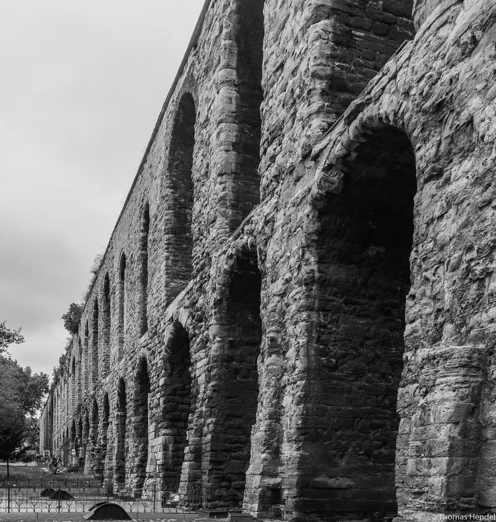 The old aqueduct.
