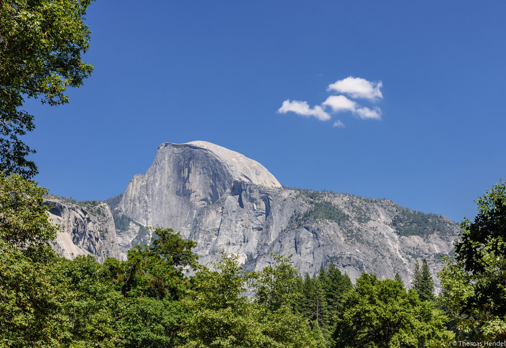 Majestic Half Dome.
